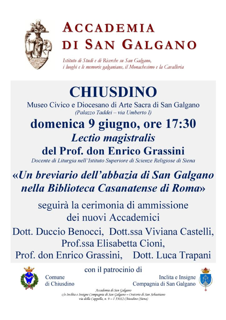 Lectio Magistralis don Enrico Grassini